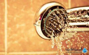 دوش با آب کمتر